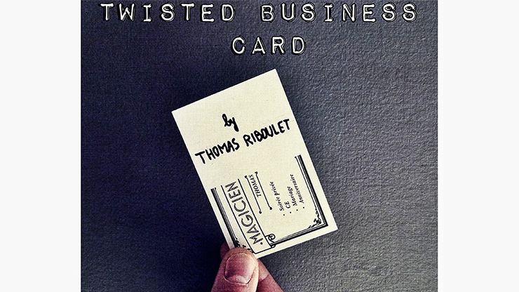 Twisted Business Card by Thomas Riboulet