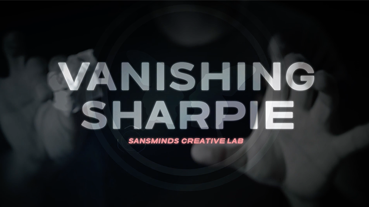 Vanishing Sharpie (DVD & Gimmicks) - SansMinds Creative Lab - DVD