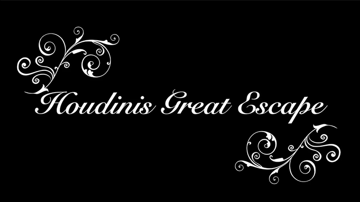 Houdini's The Great Escapes - Mark Lee