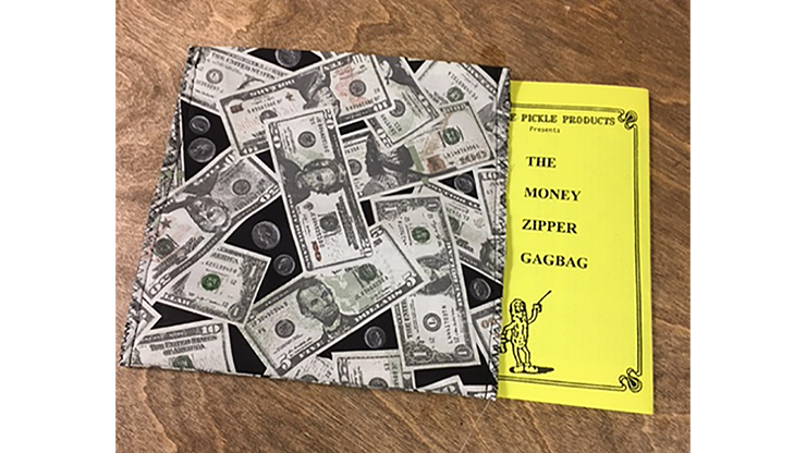 The Money Zipper Gagbag by Ickle Pickle Products - Trick