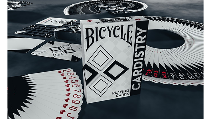 Bicycle Cardistry Black & White Playing Cards - De'vo vom Schattenreich & Handlordz