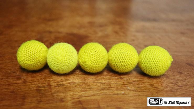 Crochet 5 Ball Combo Set