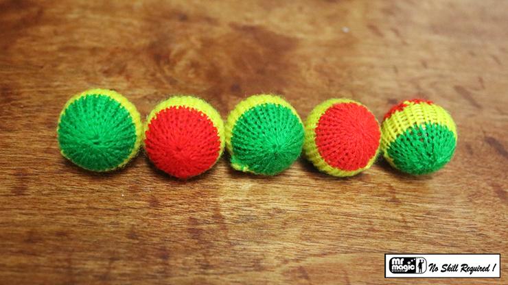 Crochet 5 Ball combo Set (1