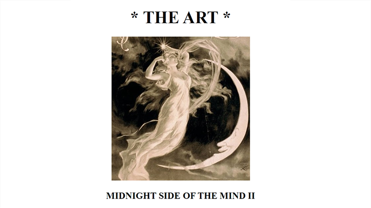 The Art: Midnight Side of the Mind II eBook DOWNLOAD