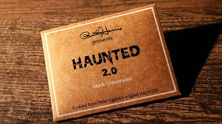 Paul Harris Presents Haunted 2.0 by Mark Traversoni and Peter Eggink Geisterkartenspiel