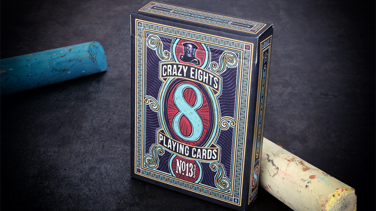 Crazy 8\'s Playing Cards - Kings Wild Project