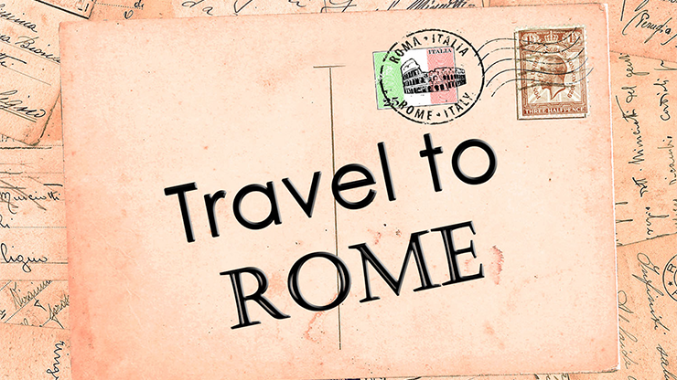 Travel to Rome by Sandro Loporcaro