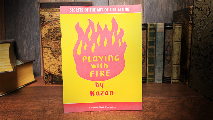 Playing with Fire (Rare/Limited) - Kazan - Libro de Magia