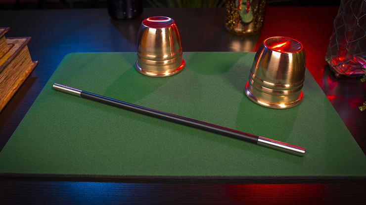 Tapete para Magia Estandar 27cm X 40cm (Verde)