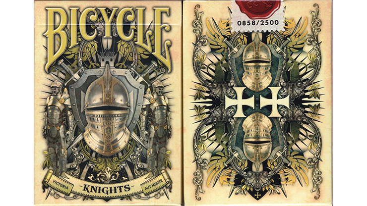 Cartas Bicycle Knights Playing Cards
