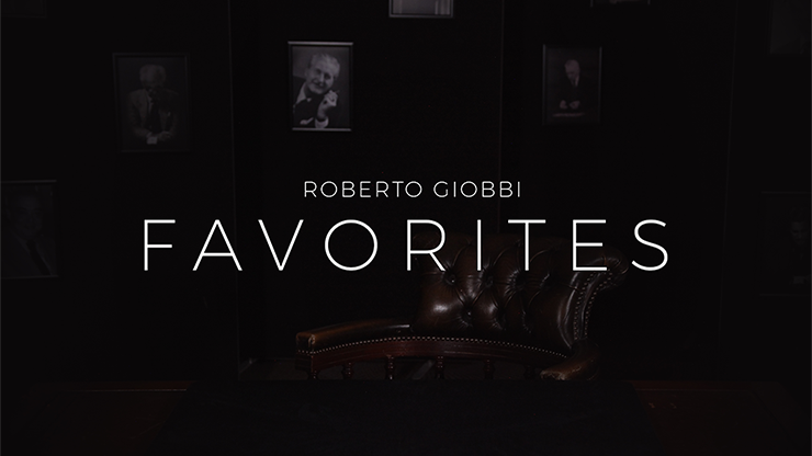 Favorites - Roberto Giobbi - DVD
