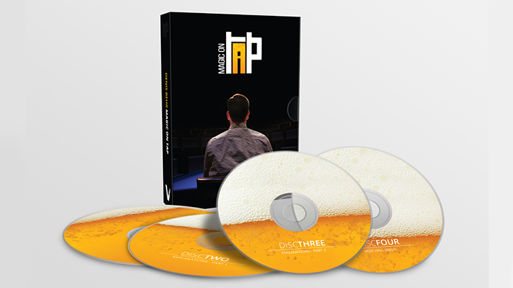 Magic on Tap (4 DVD Set) by Denis Behr