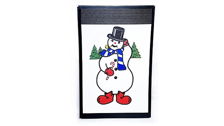Instant Art Frame Insert - Frosty the Snowman by Ickle Pickle