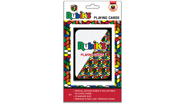 Rubik's Playing Cards by Fantasma Magic