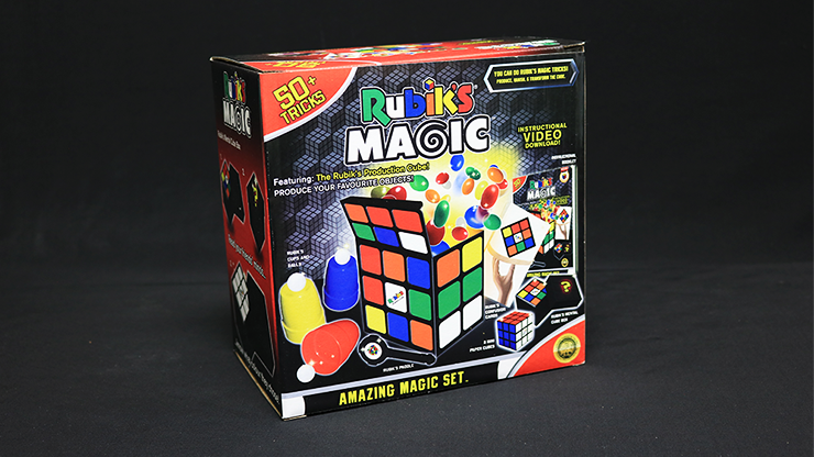 Rubik's Cube Amazing Magic Set (With 50 Tricks) by Fantasma Magic