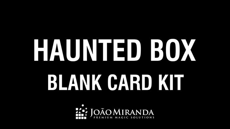 Blank Card Kit for Haunted Box by João Miranda Nachfüllmaterial