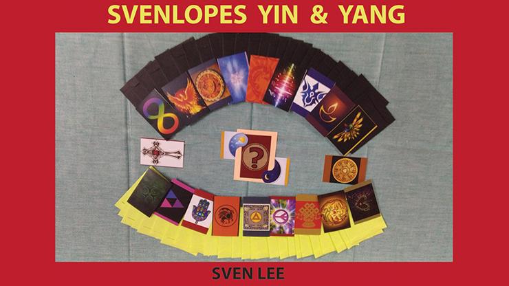 Svenlopes YIN & YANG by Sven Lee 84-teiliges Svengali-Kuvert-Set