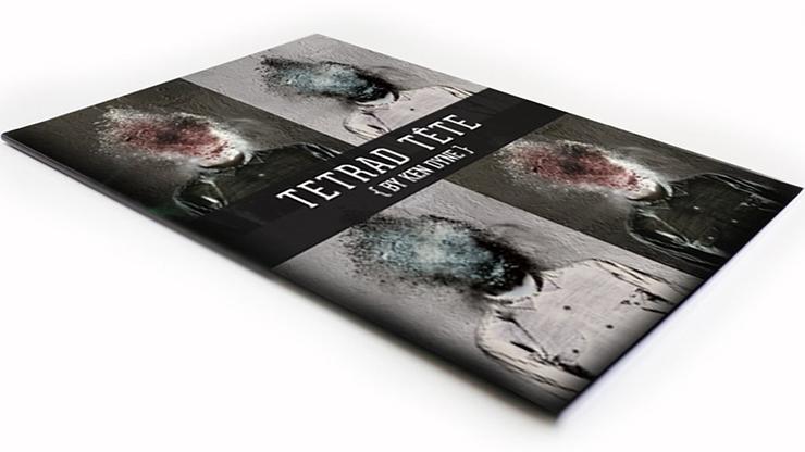 TETRAD TÊTE by Ken Dyne - Book
