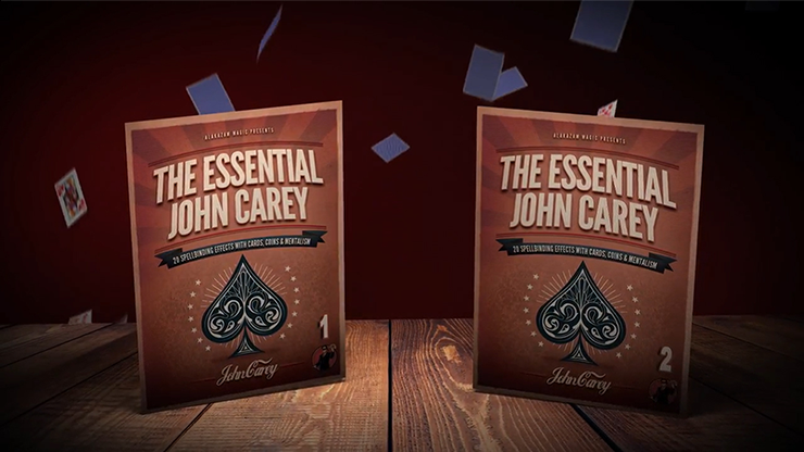 Essential Carey (2 DVD Set) - John Carey & Alakazam Magic - DVD