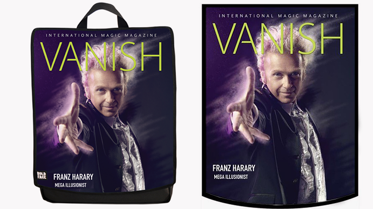 VANISH Backpack (Franz Harary) by Paul Romhany and BOLDFACE