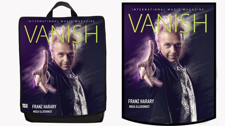 VANISH Backpack (Franz Harary) by Paul Romhany and BOLDFACE Rucksack mit austauschbaren VANISH-Covermotiven