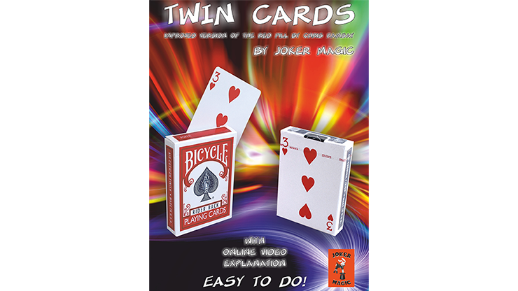 Twin Cards by Joker Magic - Trick