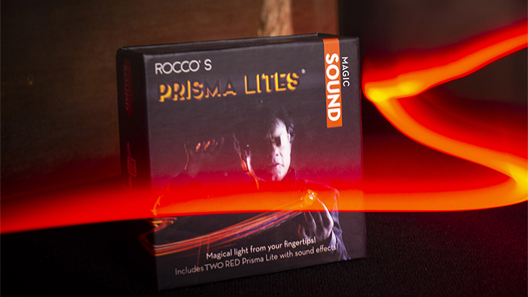Rocco's Prisma Lites SOUND Pair (Magic/Red)