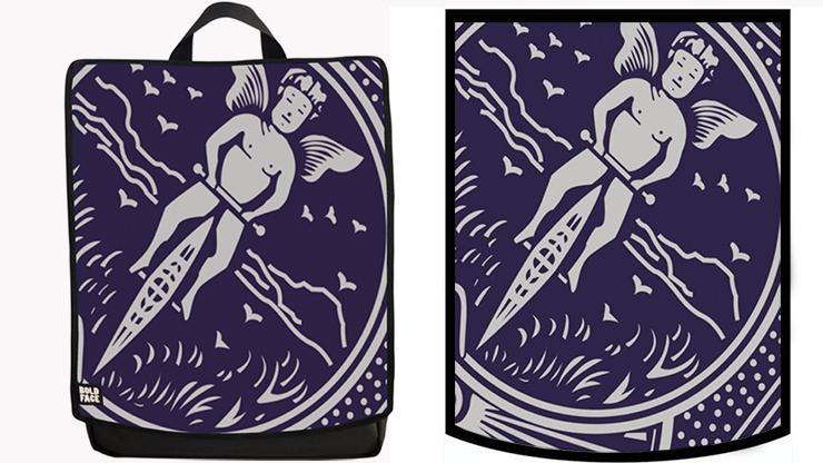 CARD Backpack (Blue) - Paul Romhany & BOLDFACE
