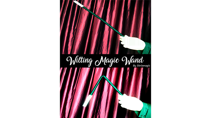 Wilting Magic Wand by Strixmagic Zauberstab knickt in Zuschauerhand ab