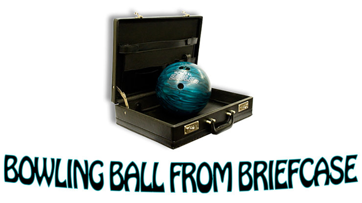 Bowling Ball from Briefcase by Daytona Magic Große Bowlingkugel aus kleiner Aktentasche