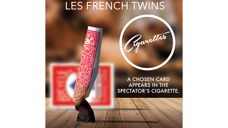 CIGARETTES (Blue) by Les French TWINS