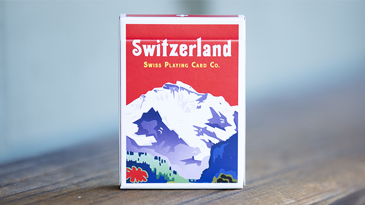 World Tour: Switzerland Playing Cards