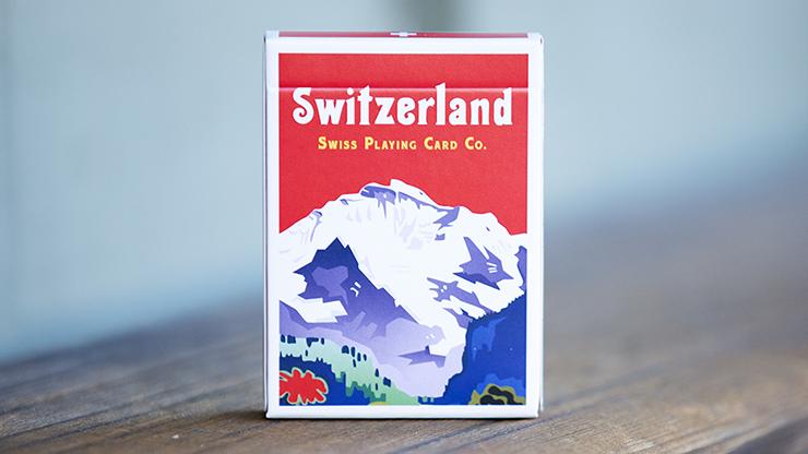 World Tour: Switzerland Playing Cards Poker Kartenspiel Spielkarten