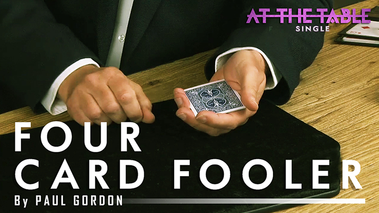 Four Card Fooler by Paul Gordon ATT Single video DOWNLOAD