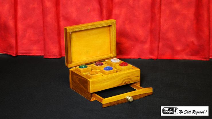 Jewel Box Prediction by Mr. Magic Edelsteinfarbe aus Box voraussagen