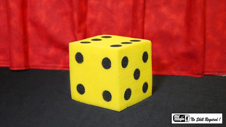 Ball To Dice (Yellow/Black) by Mr. Magic Schwammbälle zu Würfel