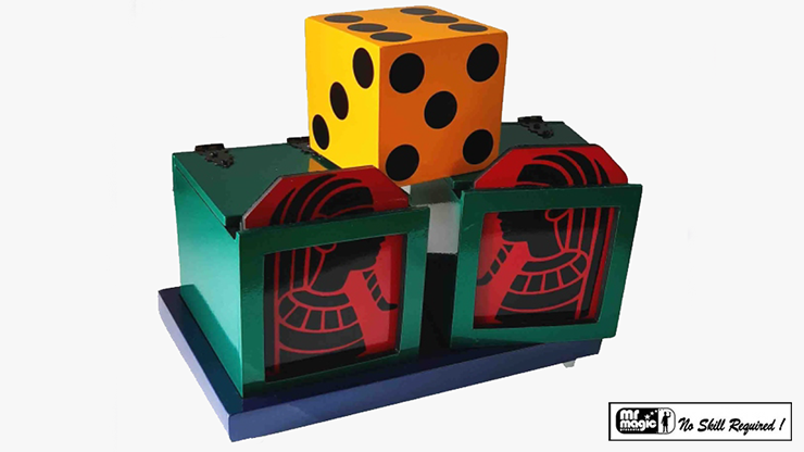 Split Die Box by Mr. Magic - Trick