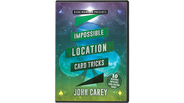 Impossible Location Card Tricks - John Carey - DVD