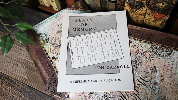 Feats of Memory by Don Carroll