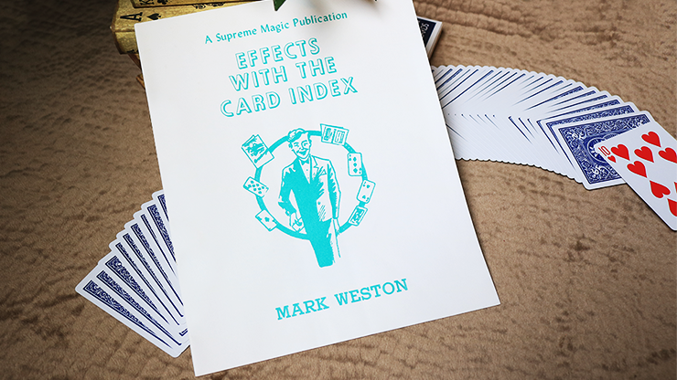 Effects with the Card Index by Mark Weston - Book