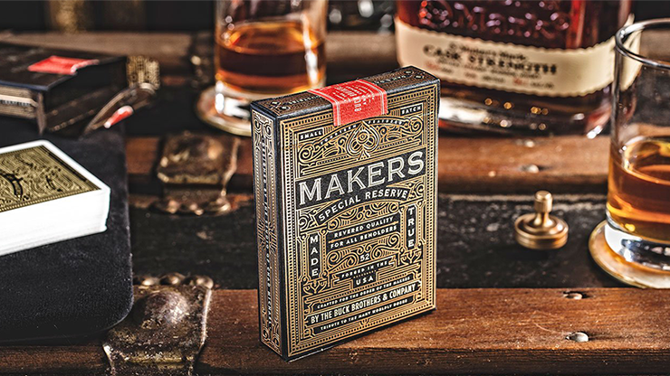 MAKERS: Blacksmith Edition Playing Cards by Dan and Dave