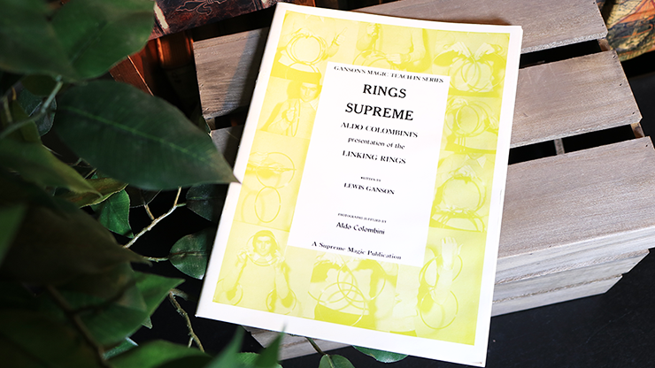 Rings Supreme by Lewis Ganson and Aldo Colombini - Book