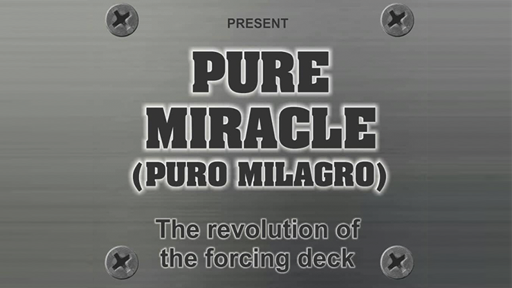 Pure Miracle (Gimmicks & Online Instructions) & Mago Larry