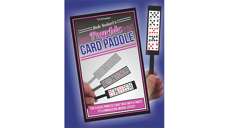 Psychic Card Paddle by Bob Solari