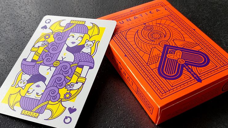 Lunatica Solstice Playing Cards Poker Kartenspiel Spielkarten