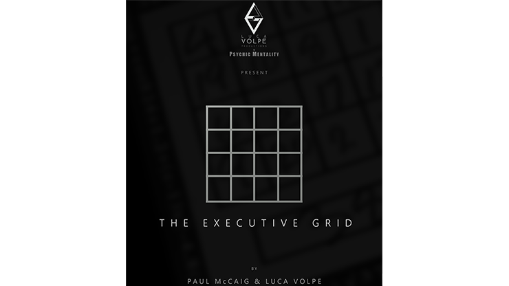 The Executive Grid by Paul McCaig and Luca Volpe Productions Qualitäts-Zauberquadrat