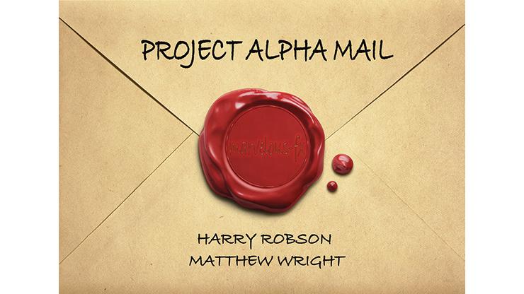 Project Alpha Mail by Harry Robson and Matthew Wright Mentaleffekte und Tricks mit Briefumschlägen