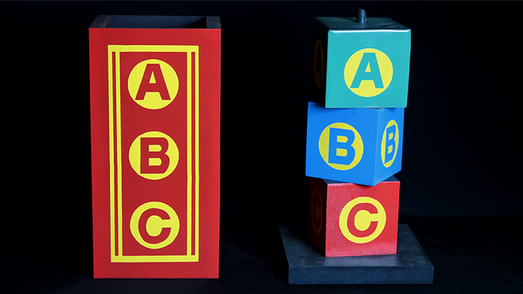 ABC Blocks by Daytona Magic
