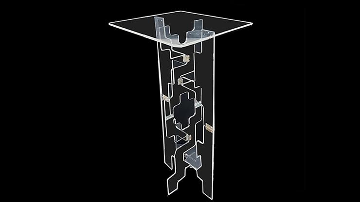 Tora Glassy Table (Folding) by Tora Magic Durchsichtiger Klapp-Zaubertisch