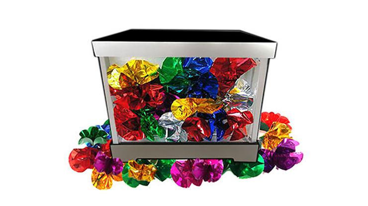 Tora Glassy Box (2 Times) by Tora Magic Produktionsbox für 2-phasige Routine